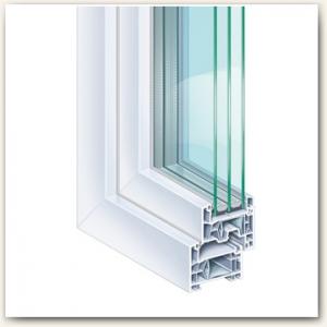 Kommerling 76 plastikiniai langai